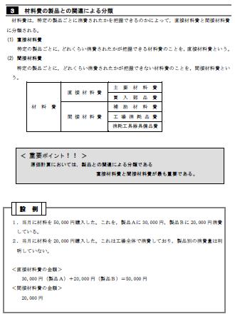 工業簿記テキスト例